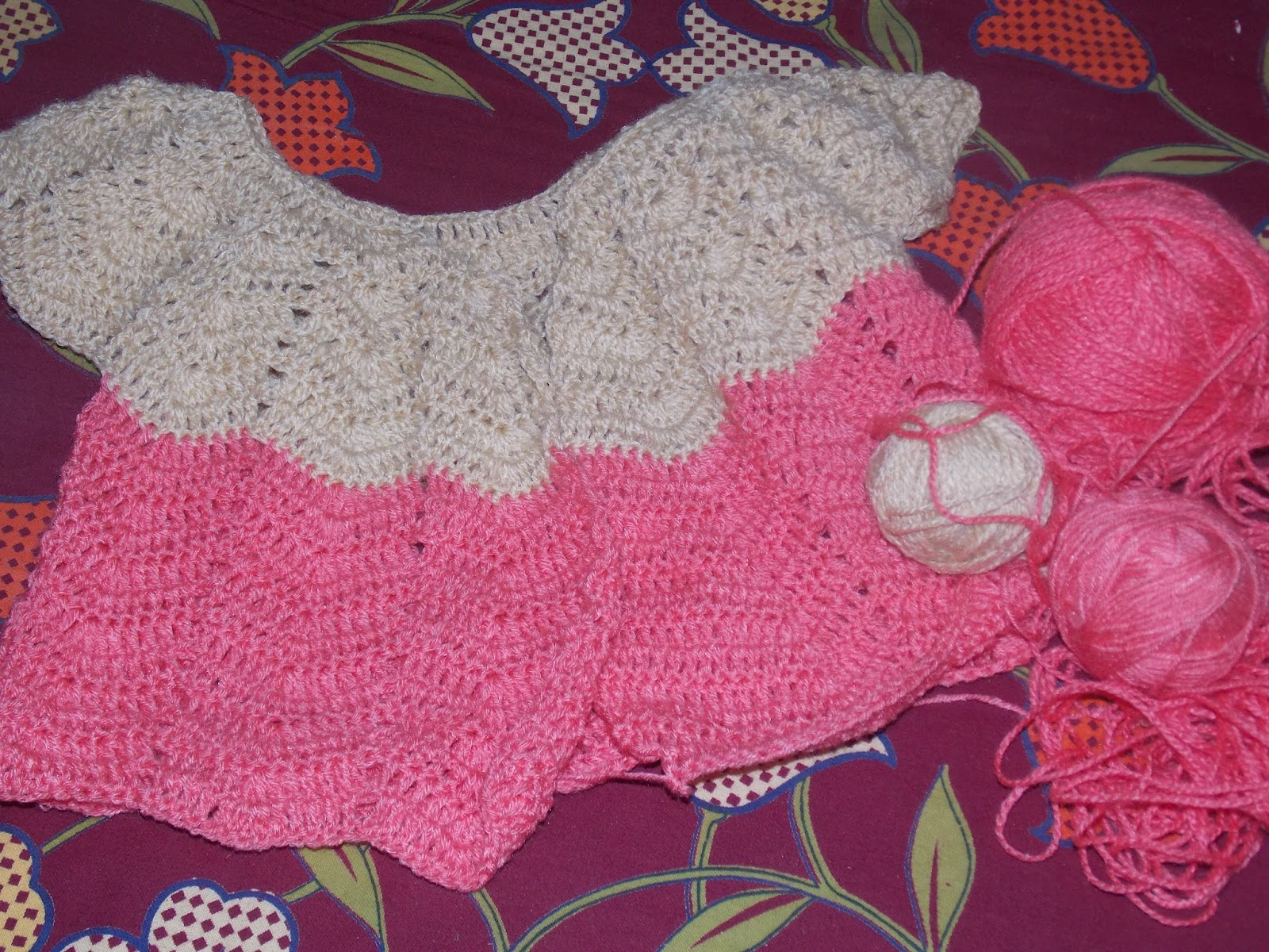 Crochet Work : crochet sweater i m making now the sospesso work i