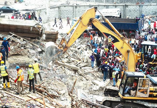 In Lekki Collapsed Buliding, Death Toll Rises Up To 35