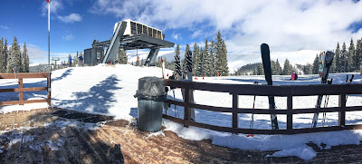 Views from the top of Ski Cooper's main lift.