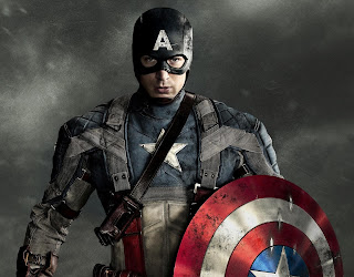 Captain America, Free Printable Invitations, Labels or Cards.