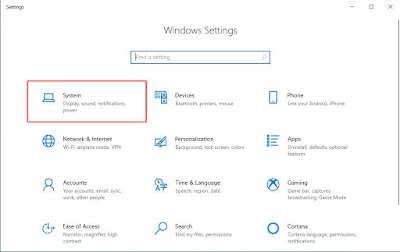 cara melihat versi windows 10 di laptop