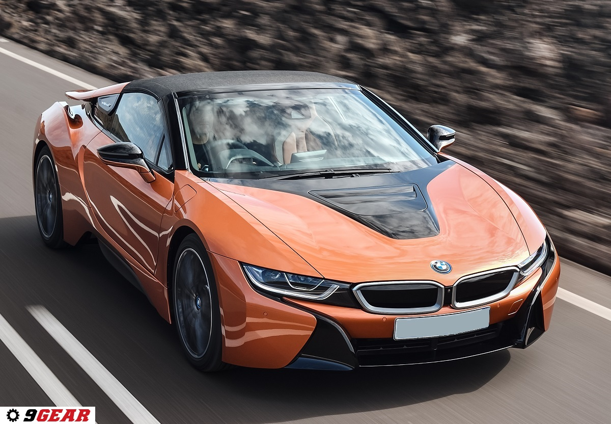 2019 Bmw I8 Roadster Two Seater With Full Electric Convertible Top