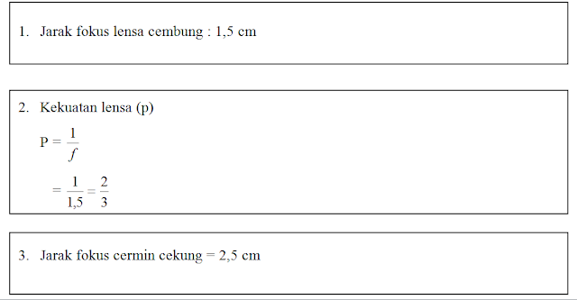 Laporan Praktikum Lensa Cembung dan Cermin Cekung (Praktikum IPA di SD)