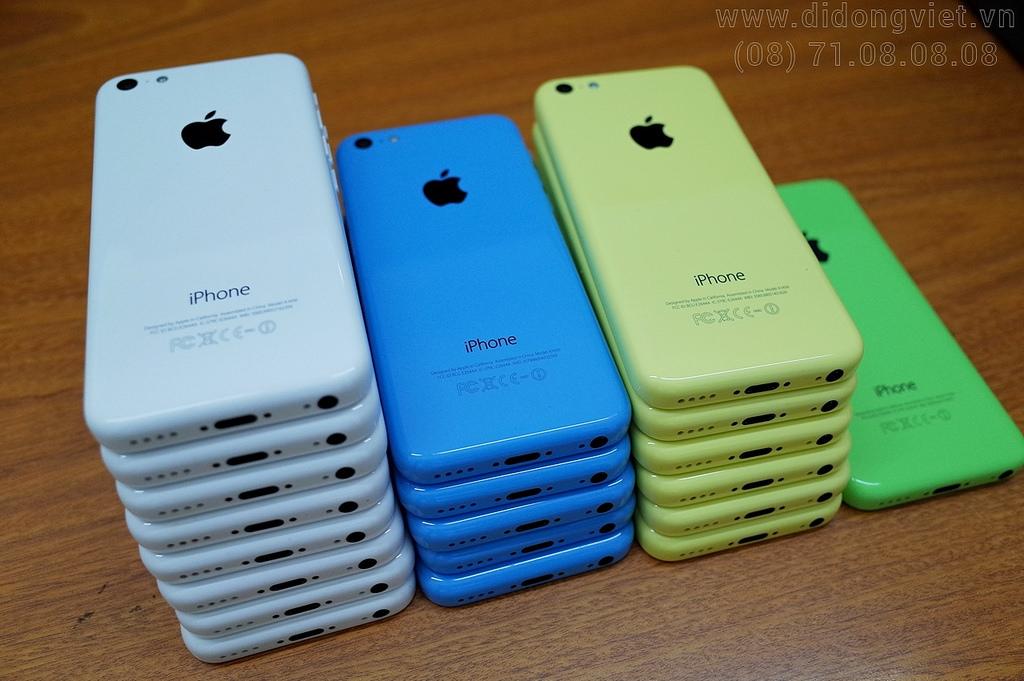 4 màu iPhone 5c Lock Nhật cũ
