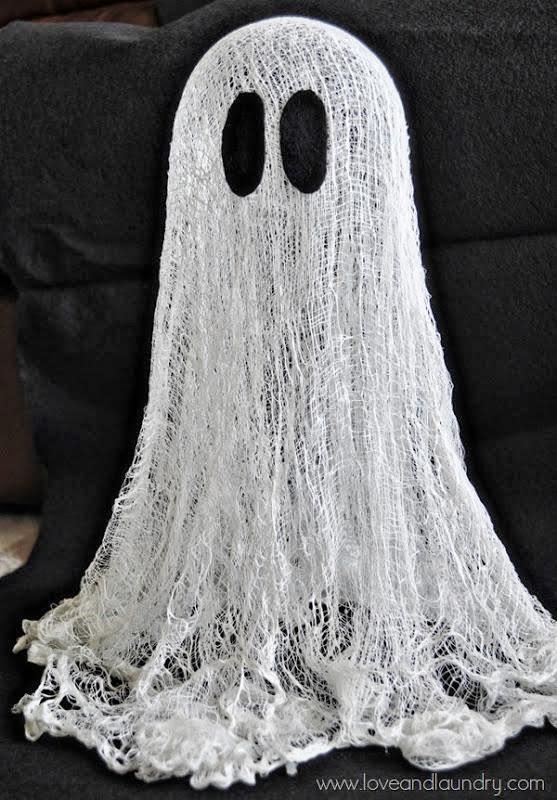 Pap De Fantasma Que Flota Decoración Para Halloween Ideas Y Material Gratis Para Fiestas Y Celebraciones Oh My Fiesta