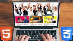 Full responsive website design with solid HTML5 & pure CSS3