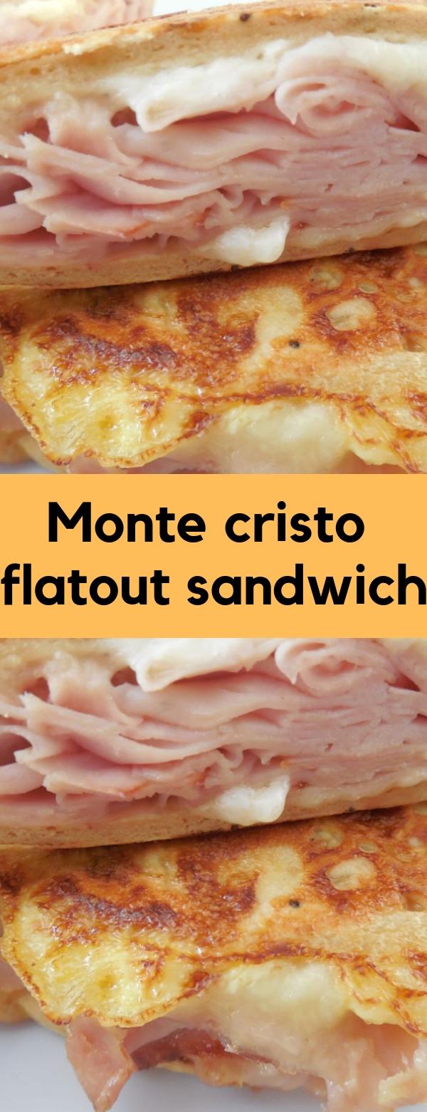 Monte cristo flatout sandwich #HEALTHY #SANDWICH #WEIGHTWATCHER #LUNCHBOX