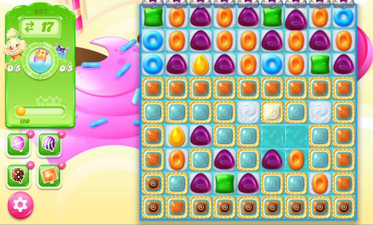 Candy Crush Jelly Saga level 697