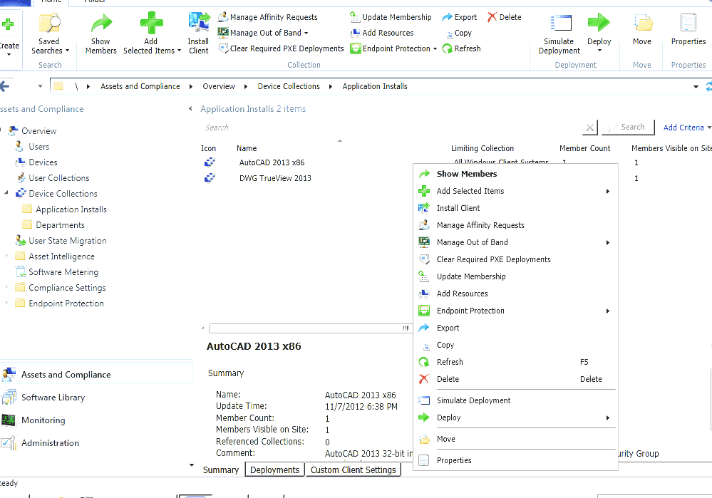 System Center Configuration Manager - Sccm Client Tools