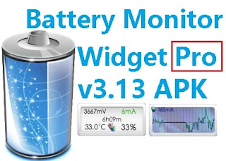 Battery Monitor Widget Pro v3.13  APK