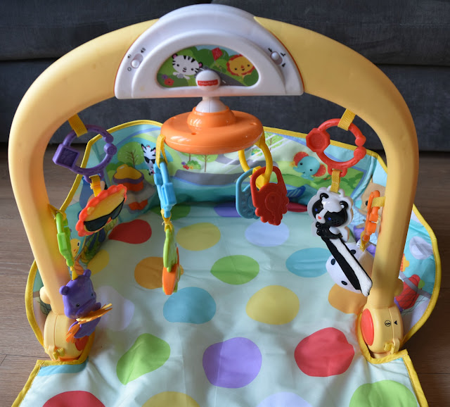 Fisher Price 3-in-1 Car Gym Lay and Play