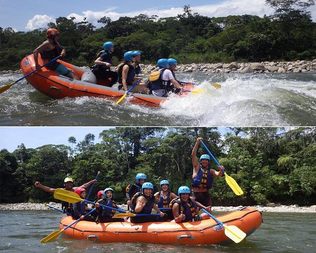 Rafting Ecuador – Rafting en Tena Rio Anzu
