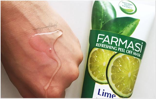 Farmasi-Refreshing-Peel-Off Mask-Lime-Soyulabilen-Maske