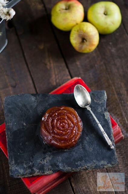 ingredientes y preparación dulce de manzana casero