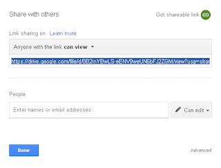 Cara membuat Direct link download di Google Drive