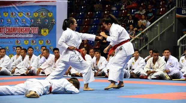 Prestasi Karate Dilandasi Jiwa Juang yang Tangguh