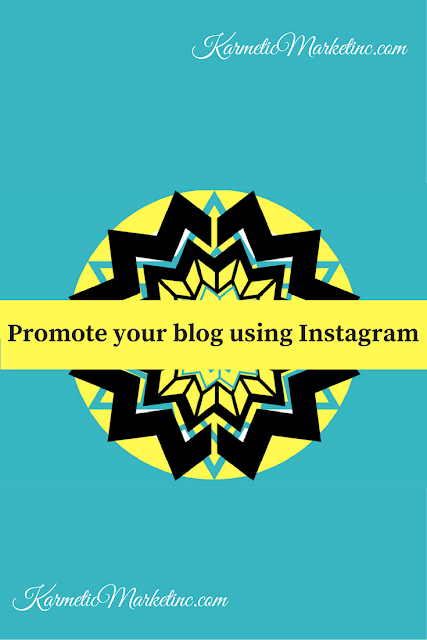 blog promotions using Instagram