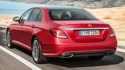 Mercedes-Benz E-Class rear look image