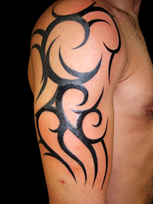 Tribal Tattoo For Arm
