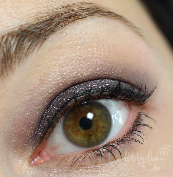 Braungrüne Augen