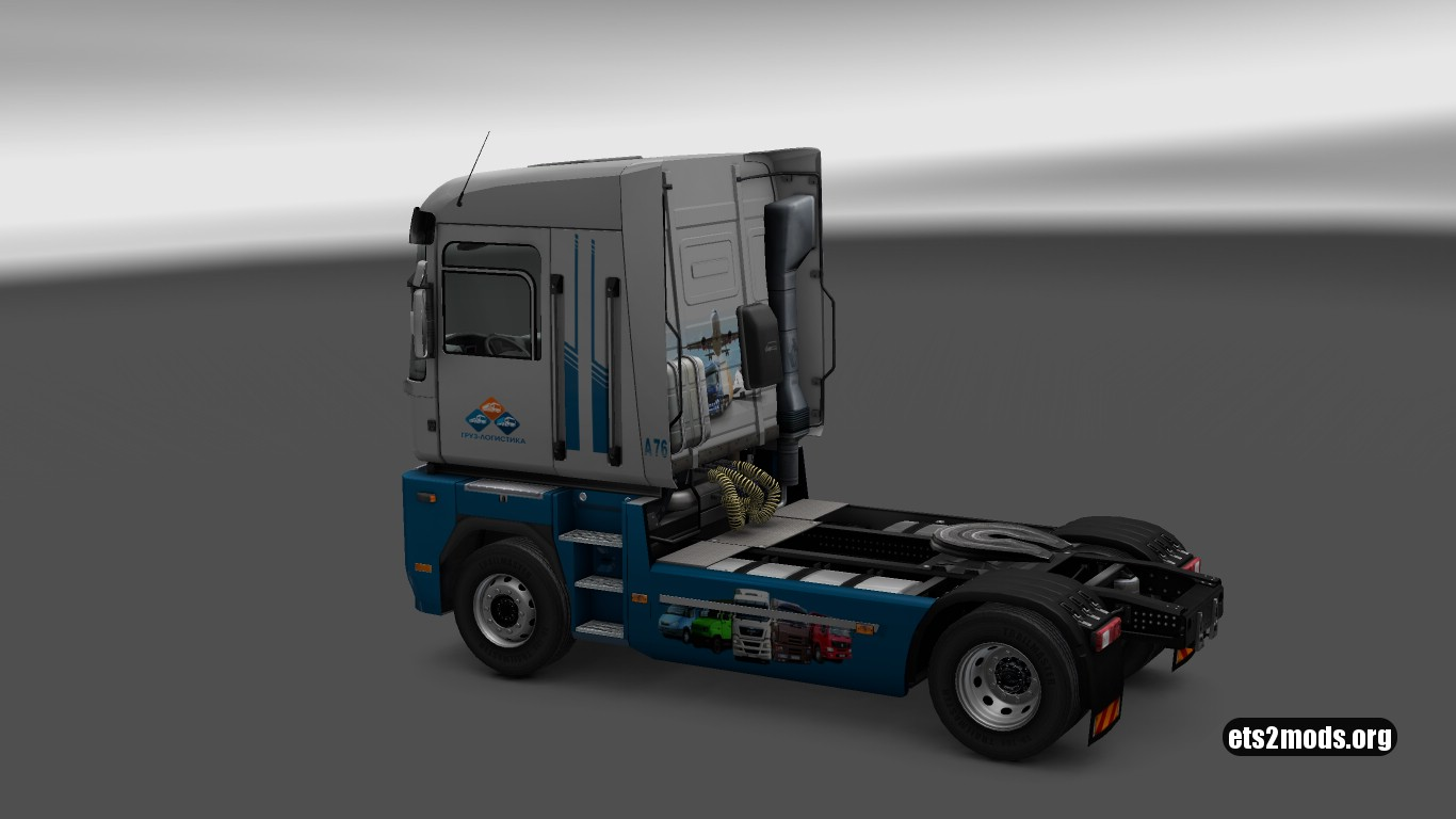 Gruzlogistic Skin for Renault Magnum