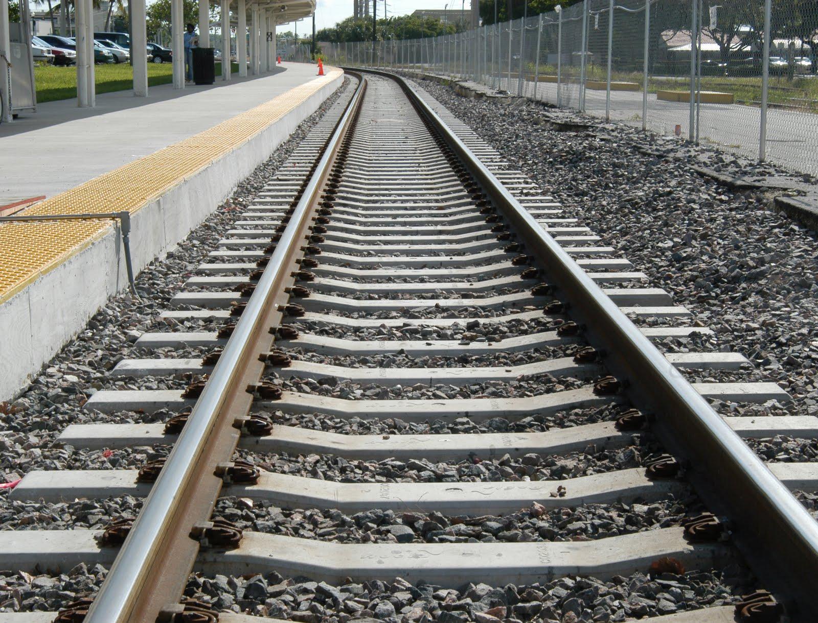 train tracks and orange1 - photo #42