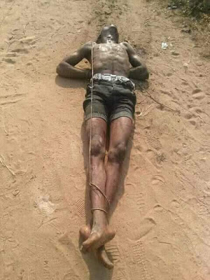 Picture Cultist beaten to death