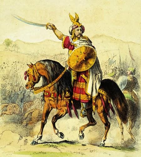 Tariq ibn al-Ziyad, a berber commander