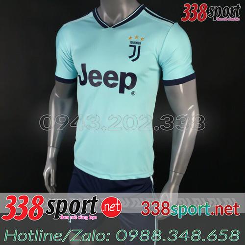 Áo Juventus Xanh Nhạt 2018 2019 Training 1