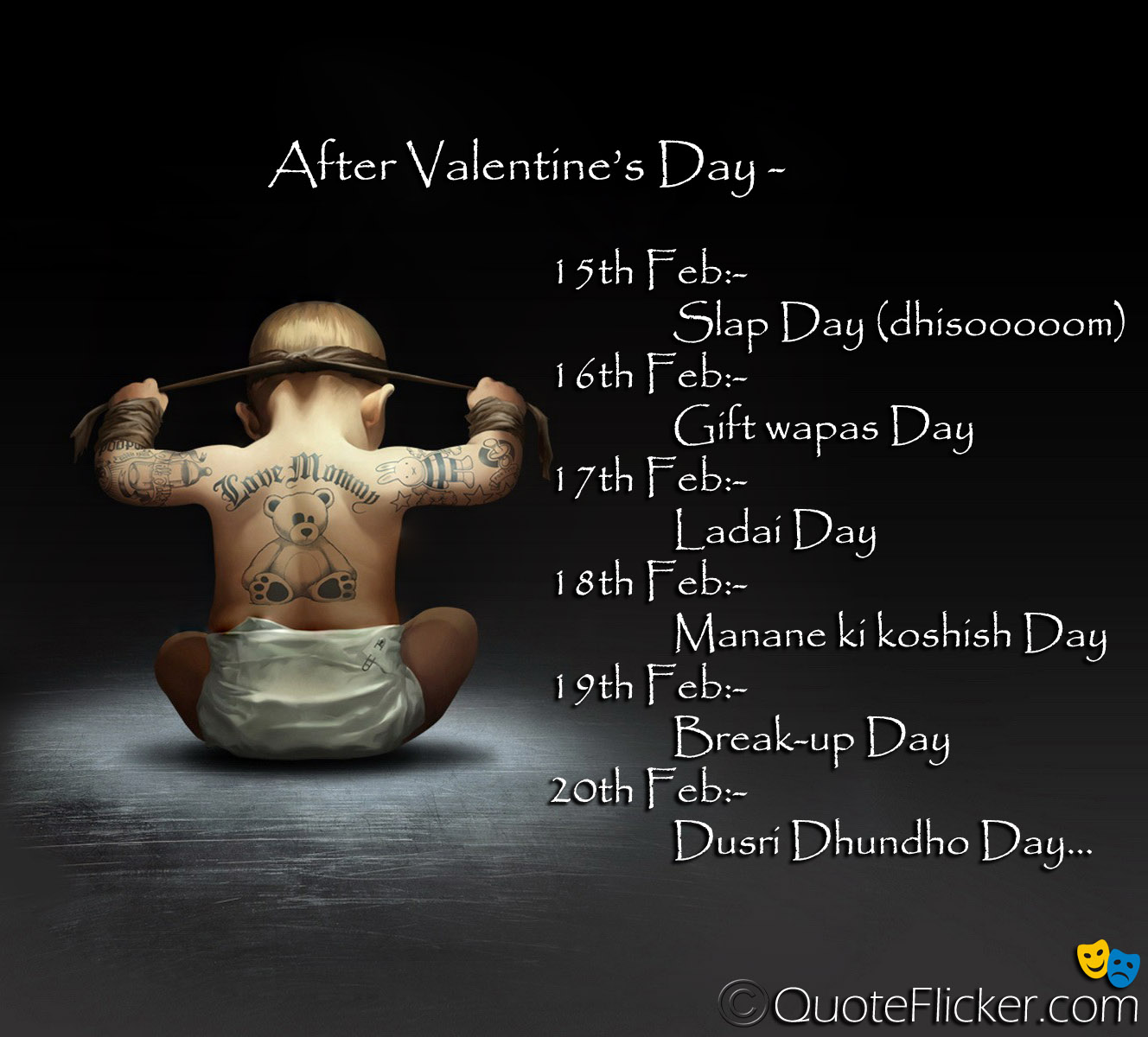 Funny Valentines Day Love Quotes After. QuotesGram
