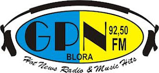 Radio GPN 92.5 FM Blora Jawa tengah hot news and music hitz