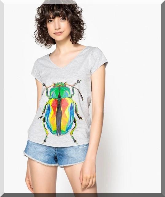 t-shirt-scarabée-la-redoute