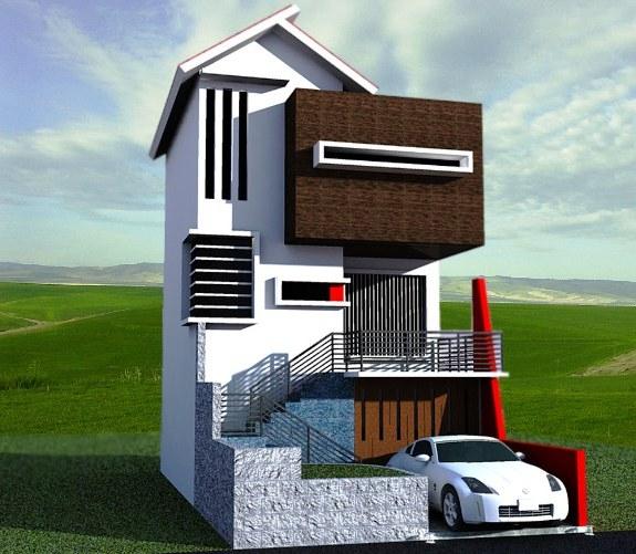 Desain Rumah Kecil Cantik Minimalis Nyaman. Rumah Kecil Sederhana 2 Lantai Tapi Unik & ⊕ 12+ desain rumah kecil minimalis tapi mewah dengan desain ...