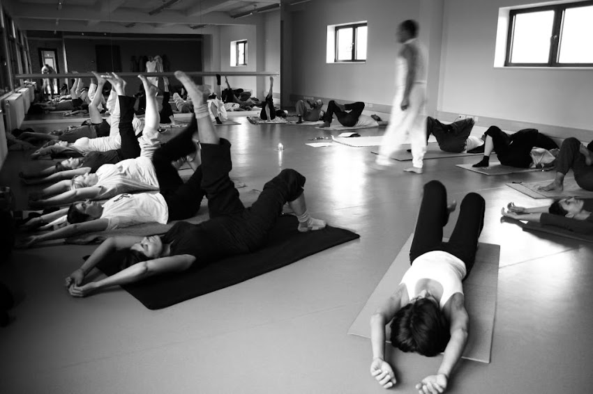 Mi lugar en la sala de Yoga