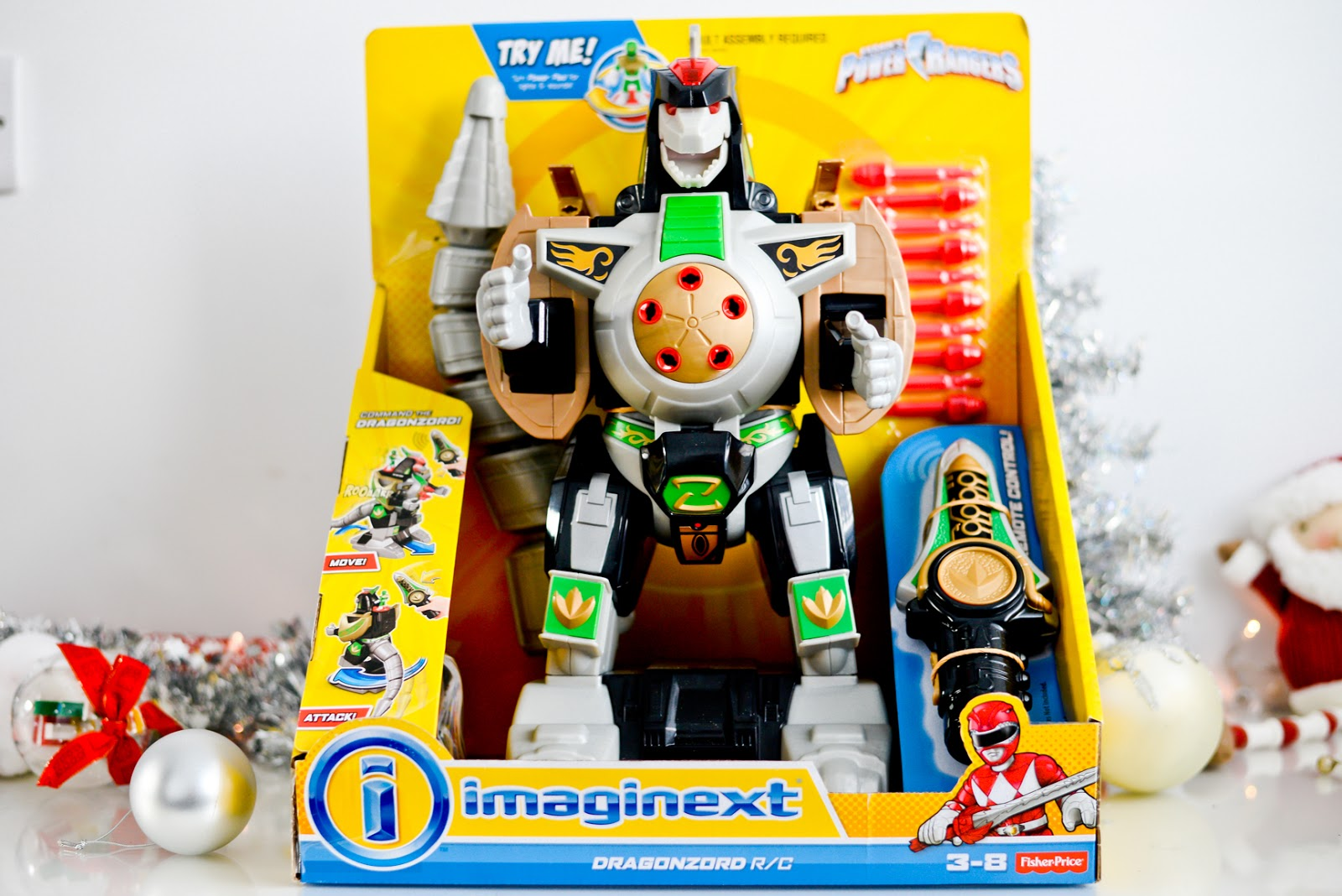 imaginext Dragonzord