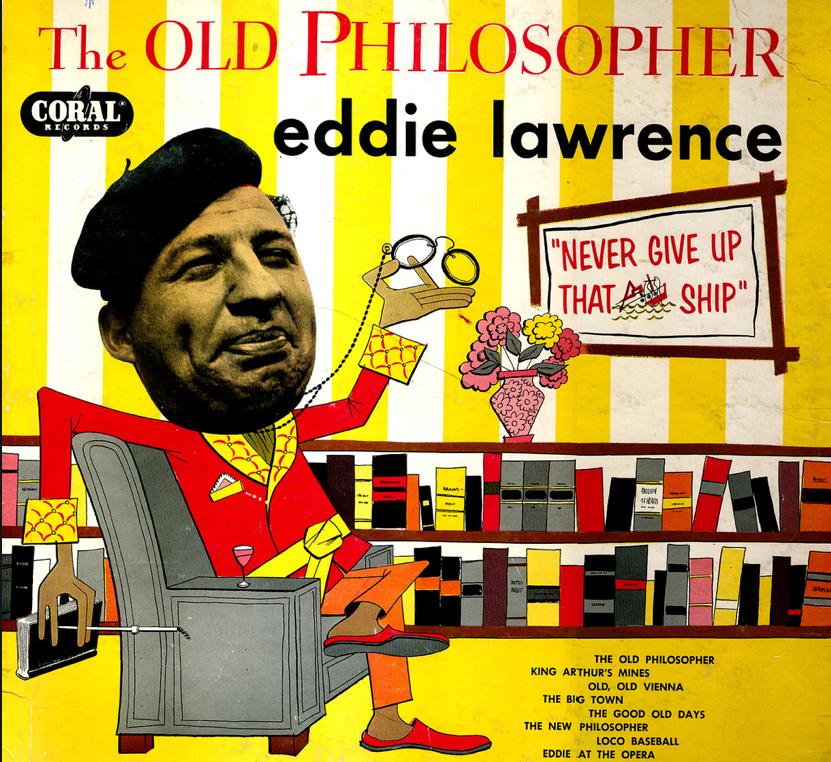 Eddie Lawrence - The Old Philosopher (Vinyl, LP) | Discogs