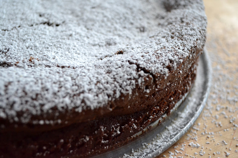 Belgian Chocolate Souffle Cake Recipe