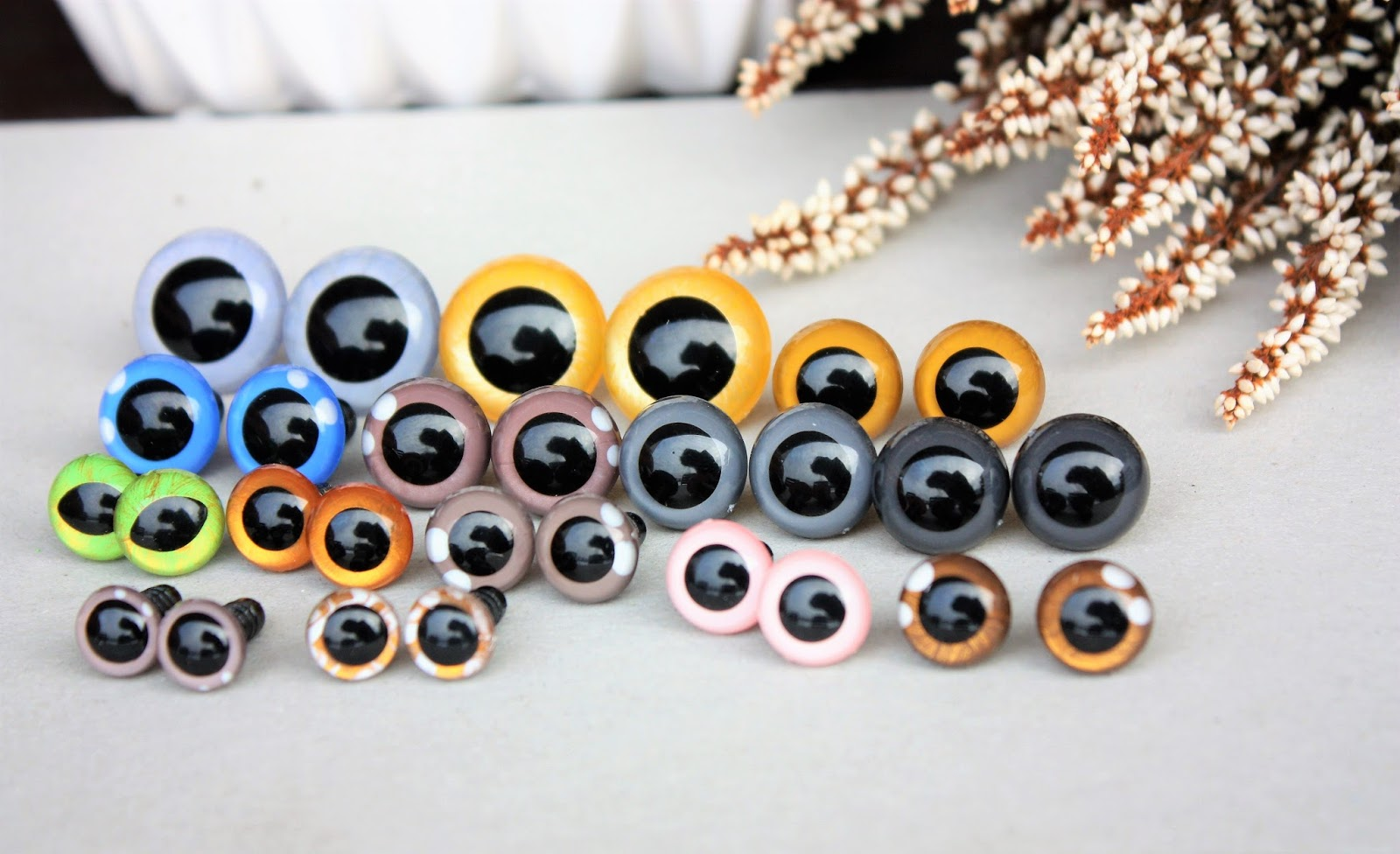 Eyes For Amigurumi : Happyamigurumi: hand painted safety eyes for amigurumi and handmade toys
