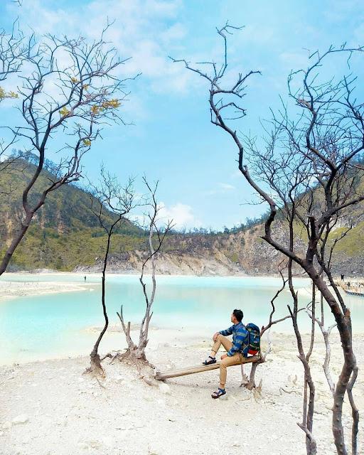 Percutian Melancong Tempat Menarik di Bandung Kawah Putih Lembang