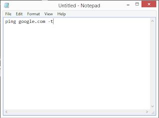 Hallo sob selamat datang di blog bocahku Cara membuat shortcut ping otomatis menggunakan cmd