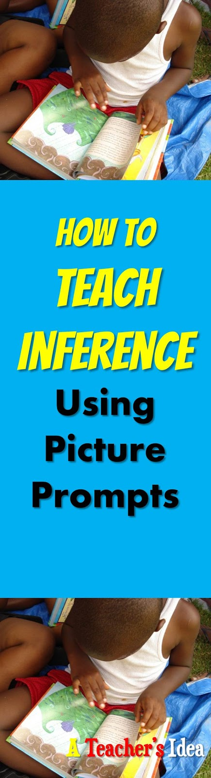 How to teach inference using picture prompts