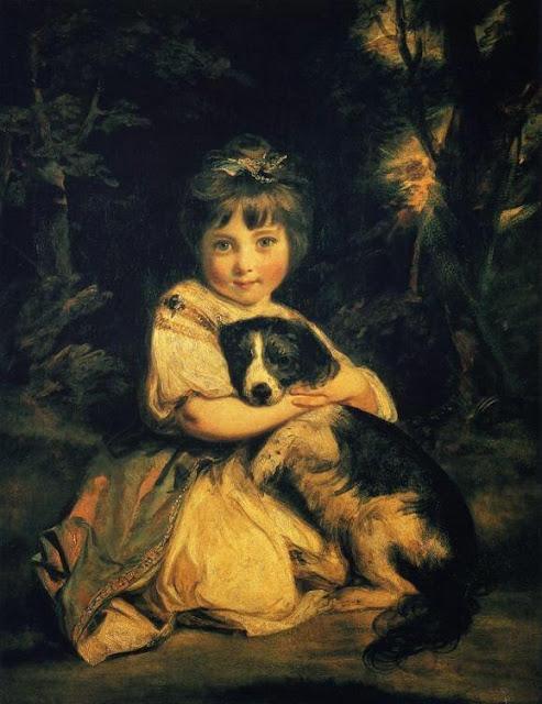Joshua Reynolds – Miss Bowles [1775]