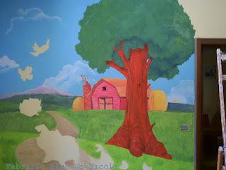 Pluccomix murales cameretta bambini for Decorazioni cameretta bambini