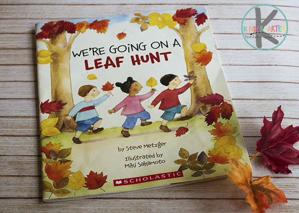 We're Going on a Leaf Hunt - fall story time