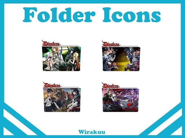 Free Download Folder Icons Anime Dies Irae (Fall 2017)