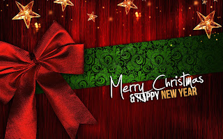 Merry Christmas and Happy New Year 2016 Wallpaper Free Download