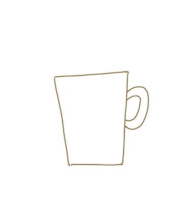 アイコン 「ビール」 (作: 塚原 美樹) ~ ビールジョッキを描く