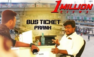 BUS Ticket Booking Prank | Prank video | Tamil prank show | PSR