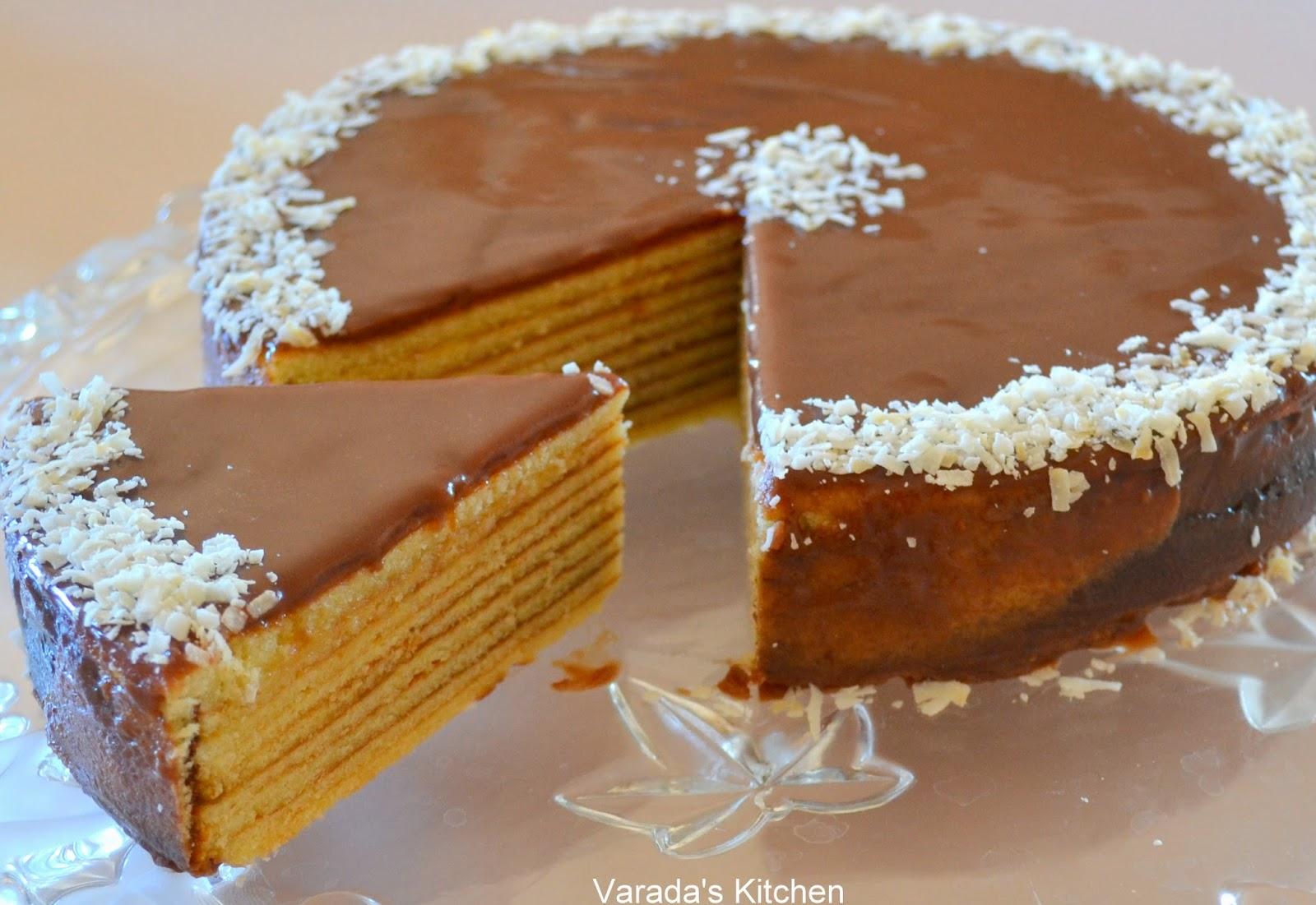 Baumkuchen Cake Recipe