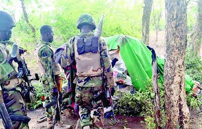 boko haram flee sambisa forest